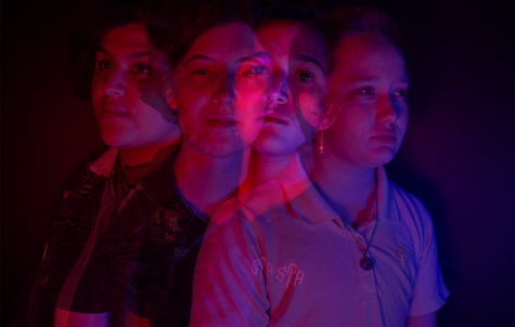 Photo illustration of (left to right) Ava Martinez, Jude Patenaude, Ange Dickson and Will Dodderidge. photo illustration by Claire Smith
